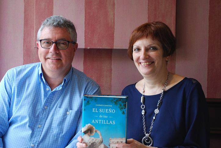 El eco de las voces carmen santos escritora valentina for Cuarto creciente zaragoza