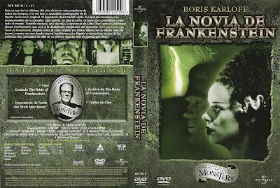 Cover, dvd, caratula: La novia de Frankenstein | 1935 | The Bride of Frankenstein