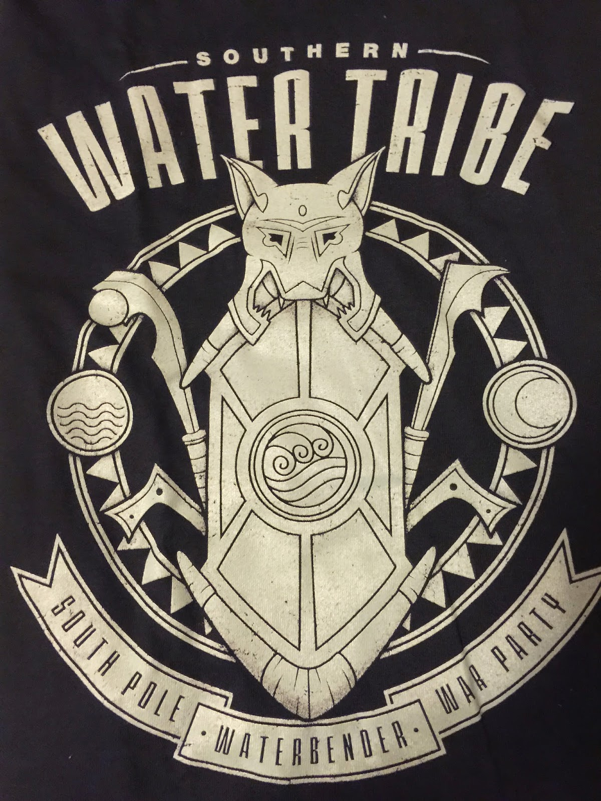 Random nifty things april 2015 custom fan box review water tribe t shirt this is the item that i got to choose directly i am a big avatar and legend of korra fan the design is cool the shirt fits well buycottarizona Gallery
