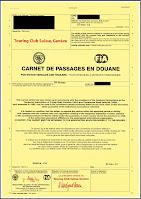 ATA Carnet de Passage en Douane CPD