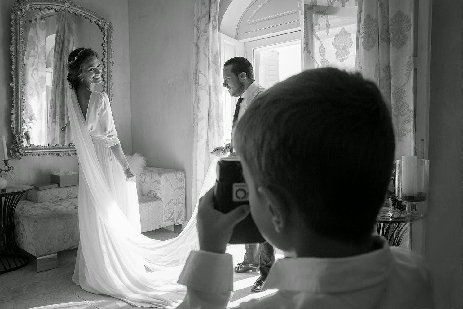 Vestido de novia Fabio Encinar