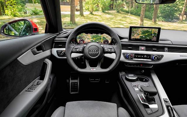 Novo Audi A4 2016 - interior - painel