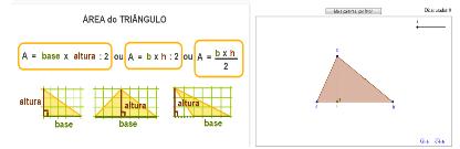 2º ceb, 2º ciclo, 5º Ano, aeaav, atividade interativa, ensino básico, mat, Matemática, área do triângulo,