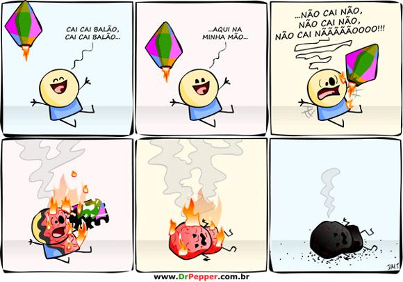 cai cai balã e queima no inferno kkk