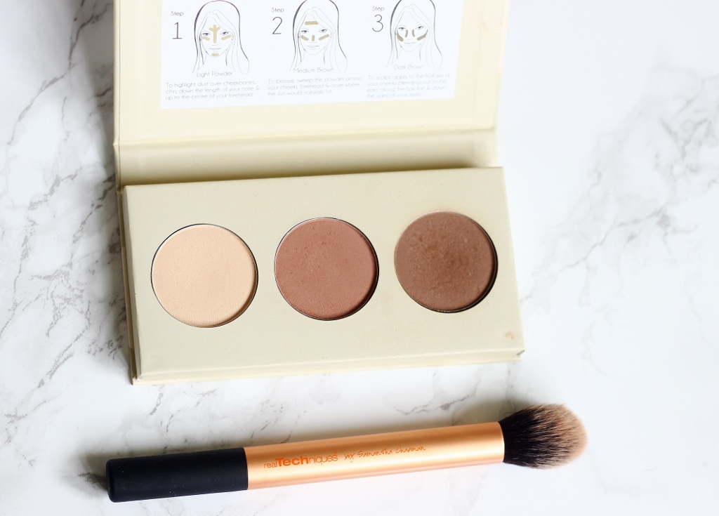 Barry M Chisel Cheeks Contour Kit review and swatch