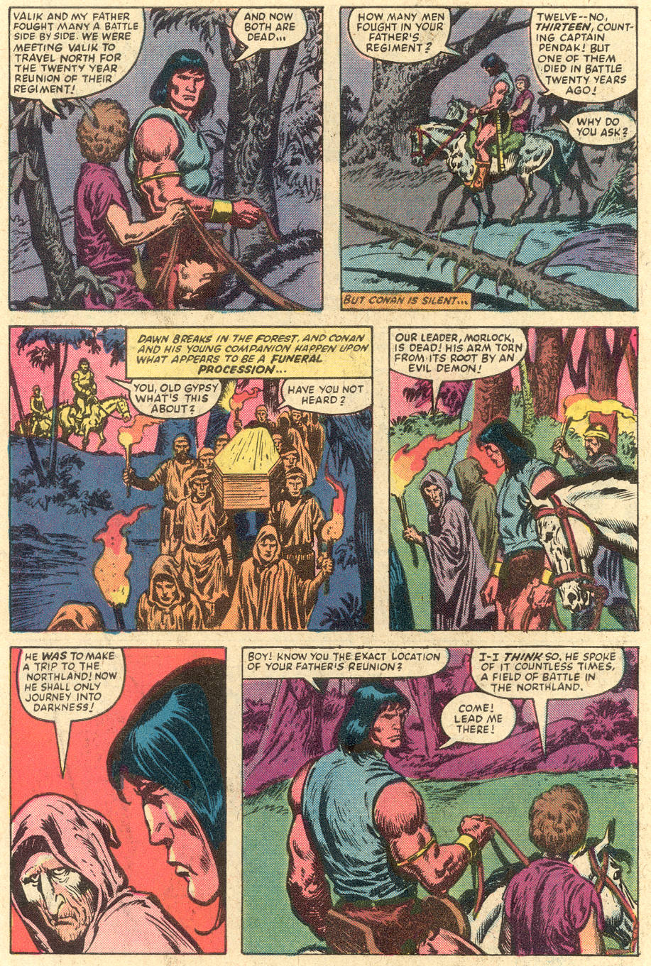 Conan the Barbarian (1970) Issue #149 #161 - English 7