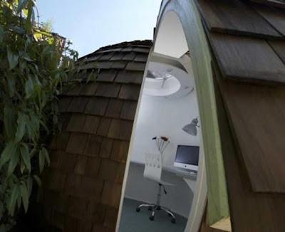 diseño oficina jardín