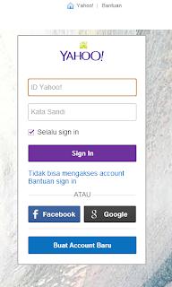 Cara Membuat atau Mendaftar Email Yahoo Terbaru 2013