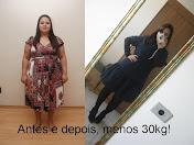 Antes e depois (-) 30kg!
