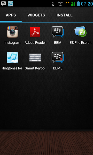 install 2 bbm di android