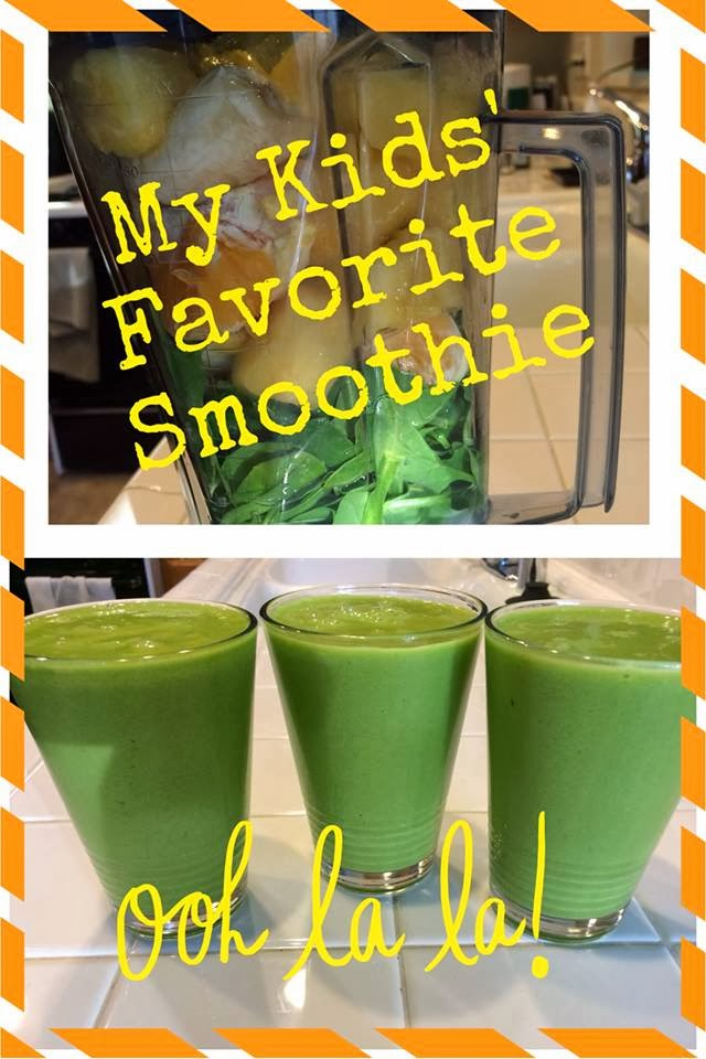 Healthy Green Smoothie, www.HealthyFitFocused.com