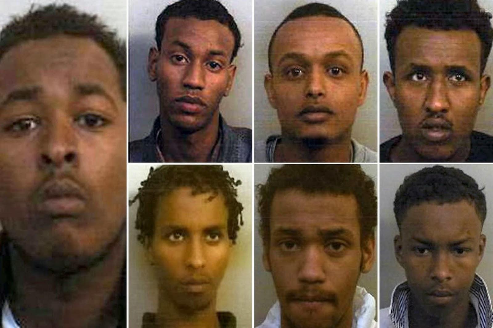 Asian gangs in london that's proper