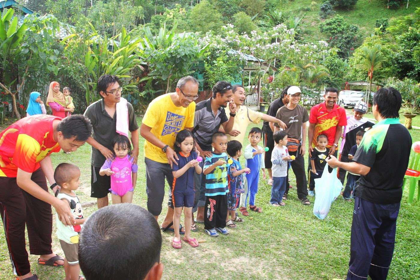 Family day at Hawa Resort, Janda Baik