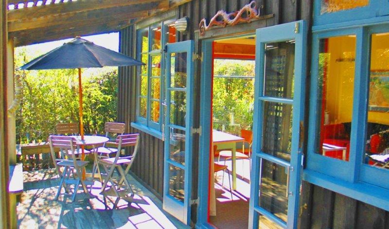 Corru Gate - sunny deck