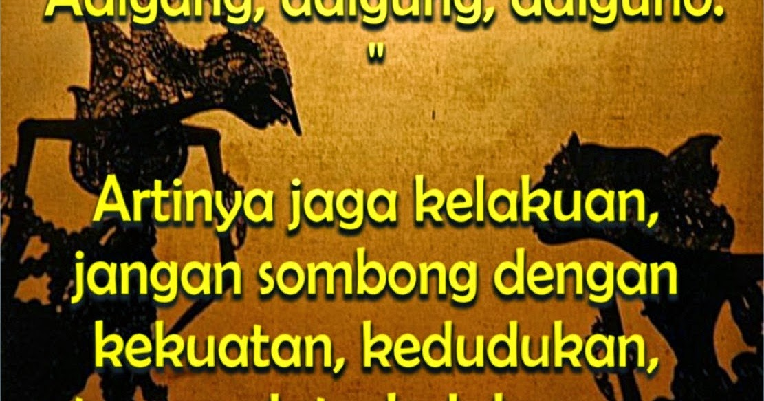 Kata Kata Motivasi Hidup Bahasa Jawa Katakata Sms 4761143 Ejobnet Info