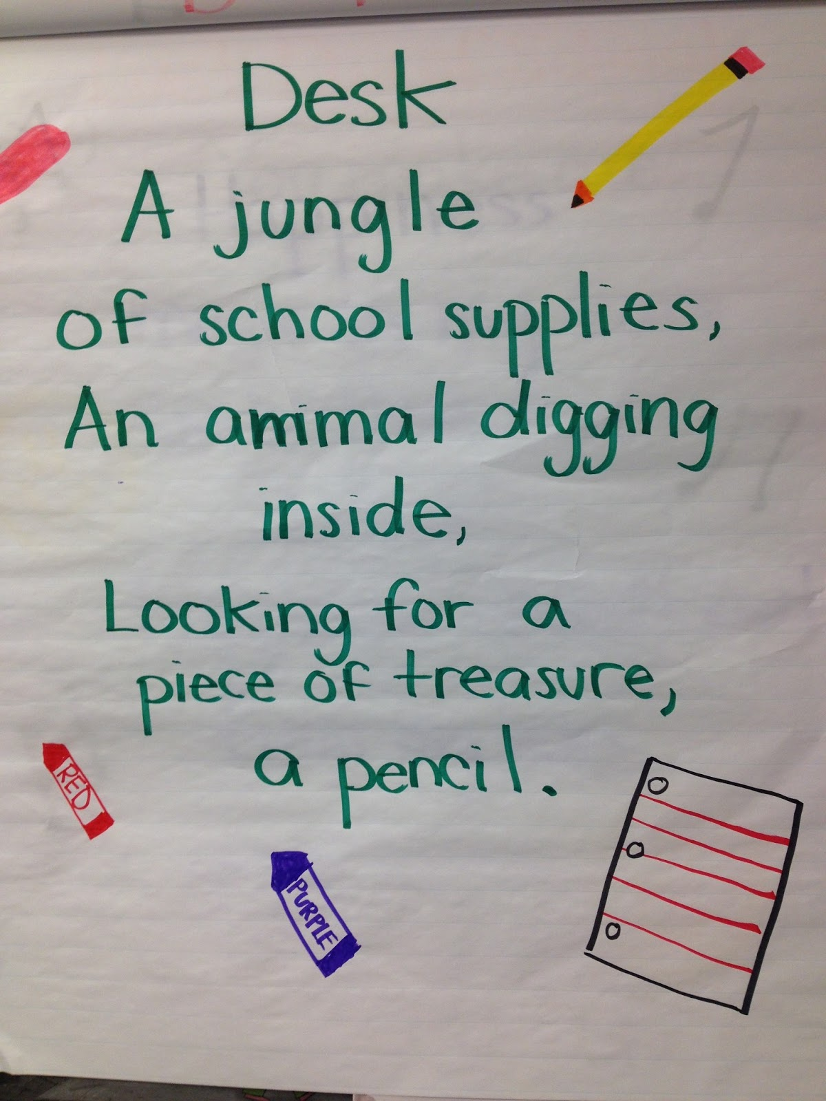 topic for creative writing for grade 4