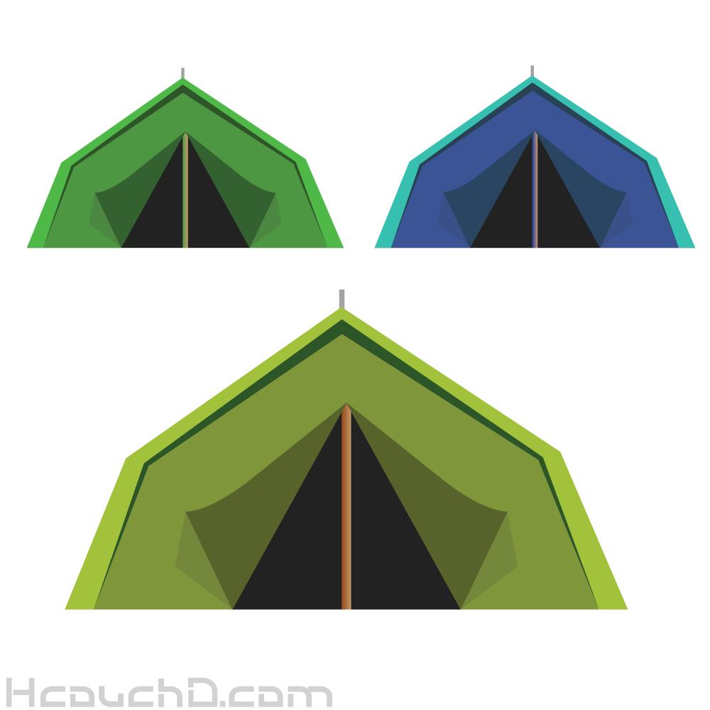 تحميل خيمة مجانا { Vector }