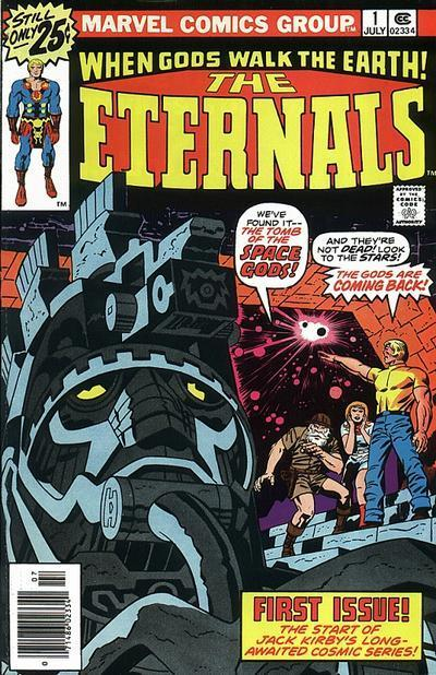 Portada de Los Eternos-Marvel