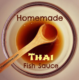 Lekker resepte vir die jongergeslag homemade thai fish sauce for Thai kitchen fish sauce