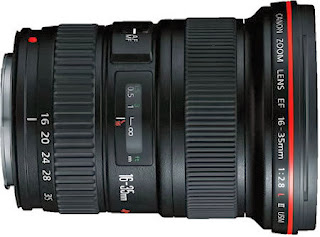 Lensa Kamera Canon EF 16-35mm f/2.8L II USM