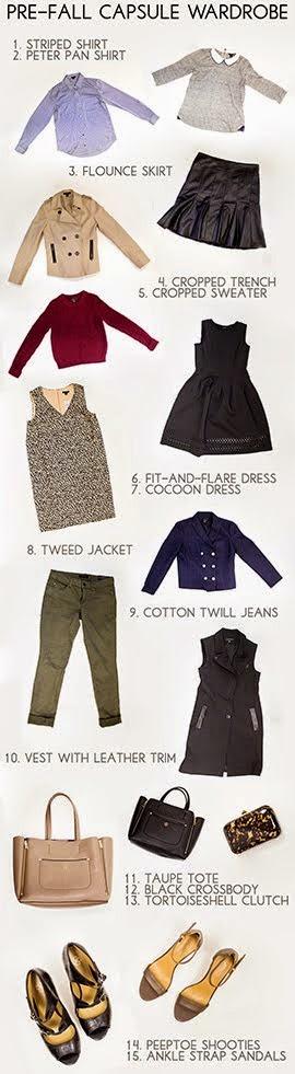 Pre-fall Capsule Wardrobe