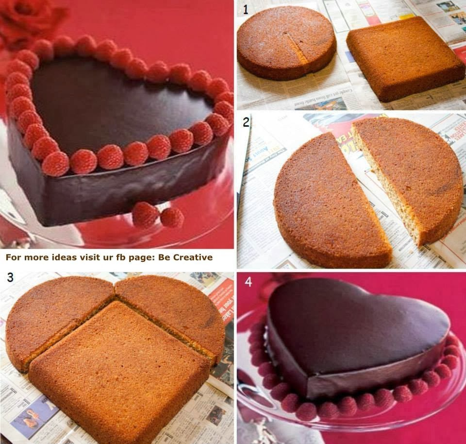 Gateau forme originale