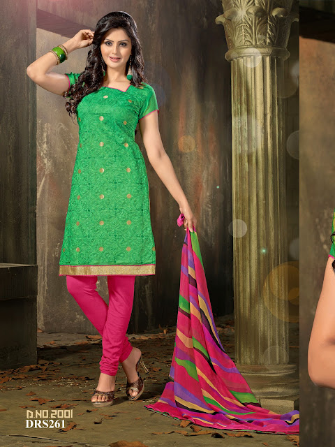 New Arrival Chanderi Cotton Dress Material – Manufacturer