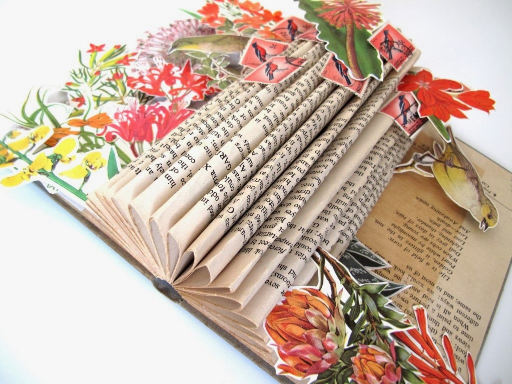 Book Art by Keri Muller  - simpleintrigue.com