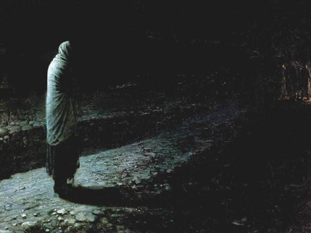 """""""Η συνείδηση, ο Ιούδας"""", έργο του Николай Николаевич, 1891."""
