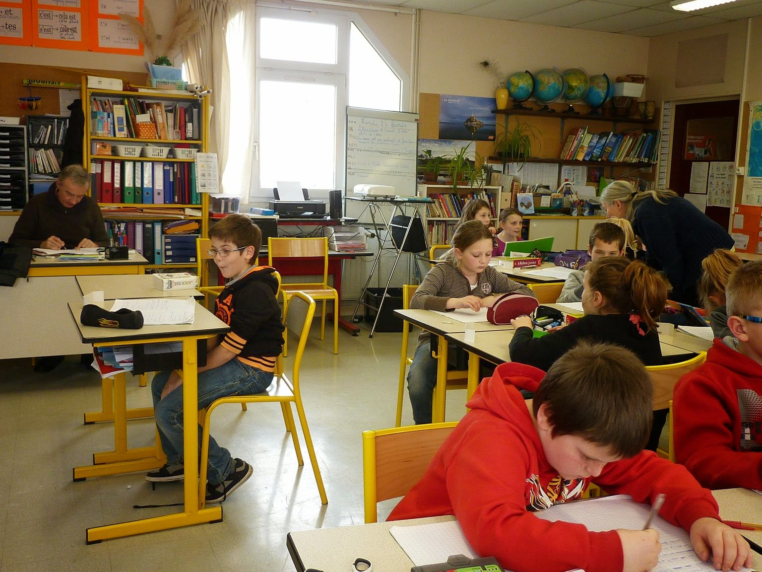 textes sur le blog de la classe
