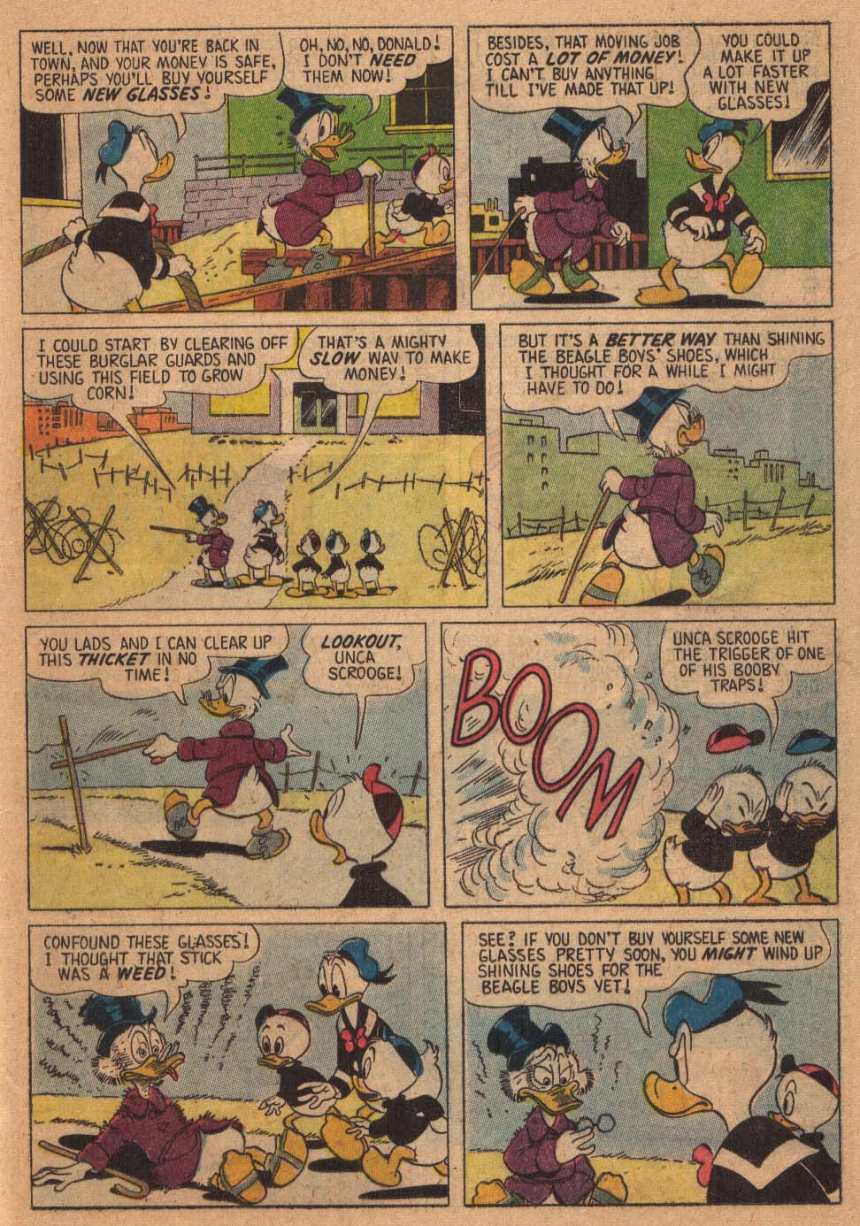Uncle Scrooge (1953) Issue #21 #21 - English 17