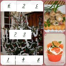 Calendrier de l'Avent 2012 et 2013 et ses cases recettes festives