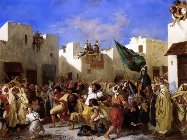 El Sultán de Marruecos Eugene Delacroix