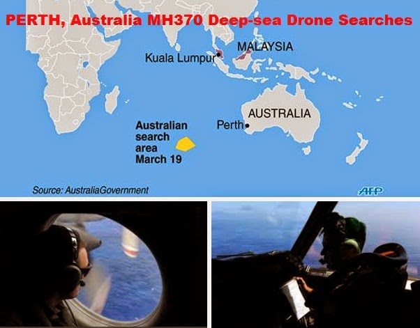 No Results for MH370 Deep-sea Drone Searches on Australia