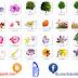 صور أشجار و أزهار بصيغة png