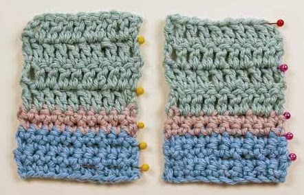 Crochet Stitches Counting : how to count crochet rows stitches crocheting knitting markers pins ...