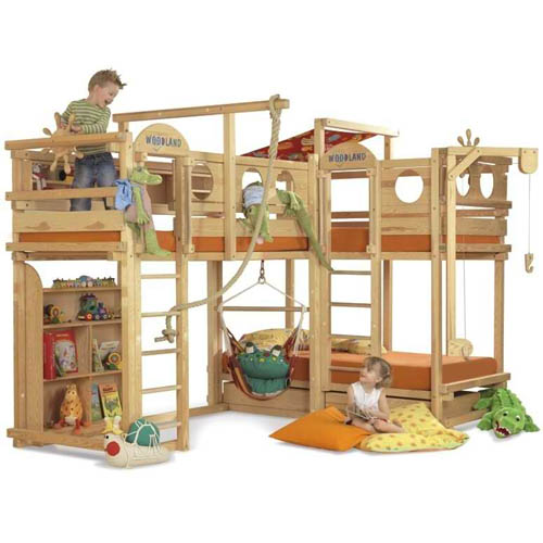 More Amazing Bunk Beds For Kids Interior Design Inspirations For