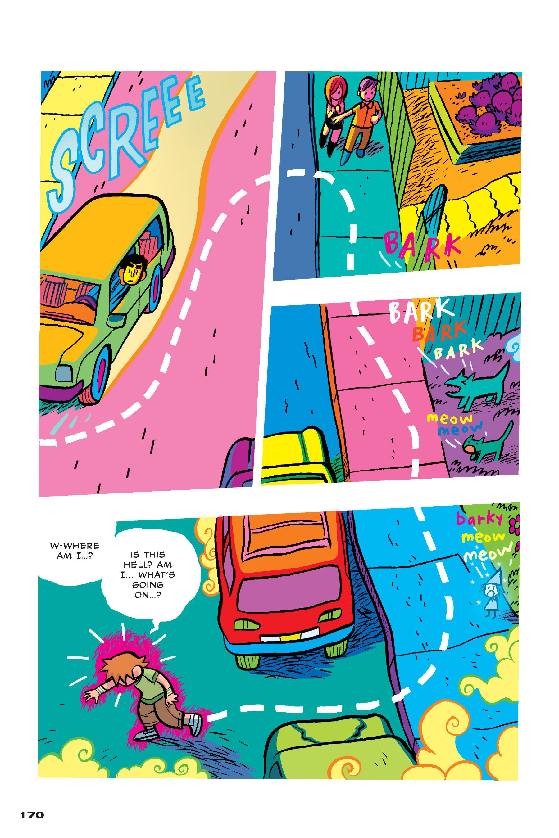 Read online Scott Pilgrim comic -  Issue #4 - 167