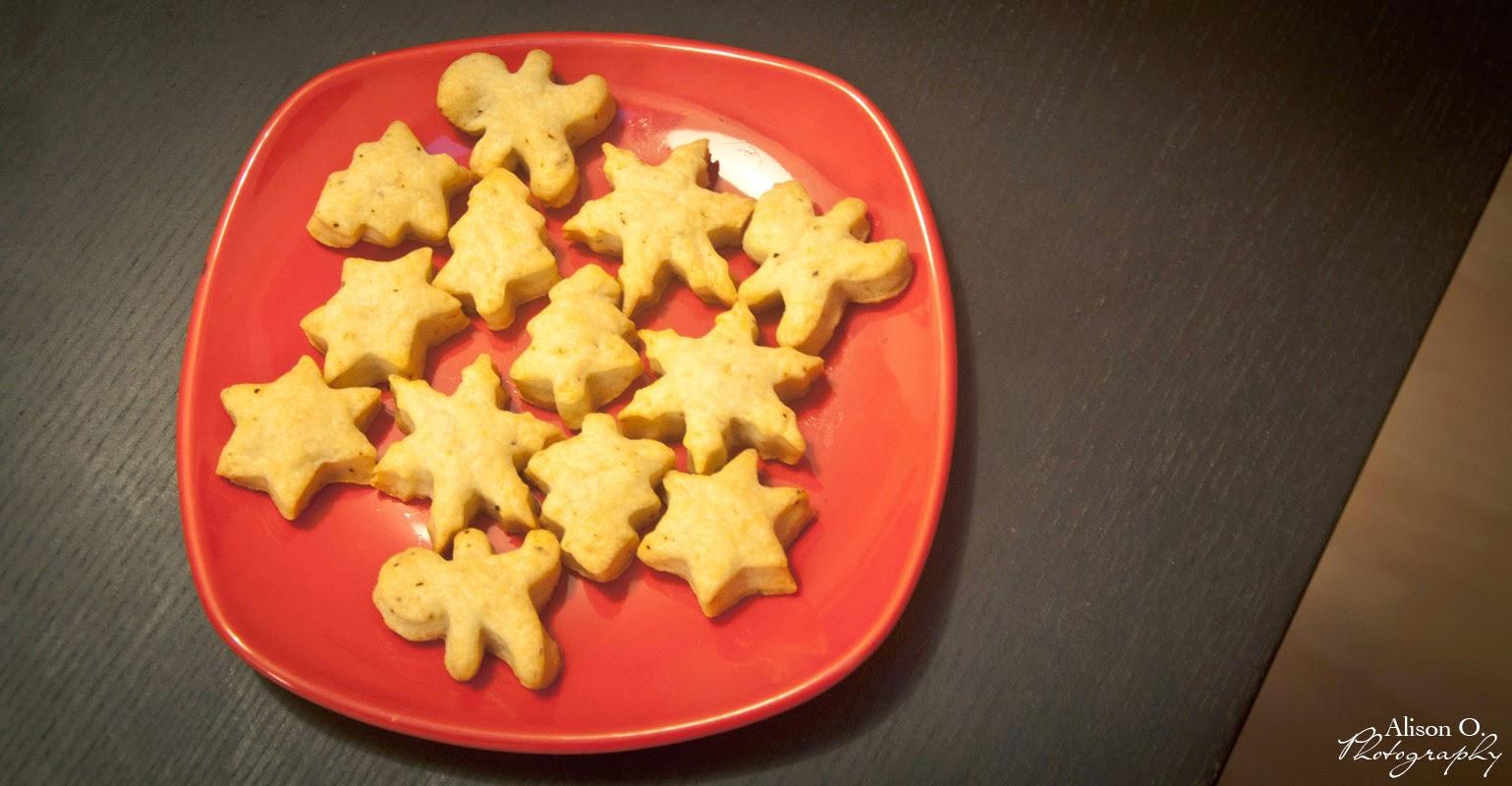 Recette Sablés de Noël au parmesan