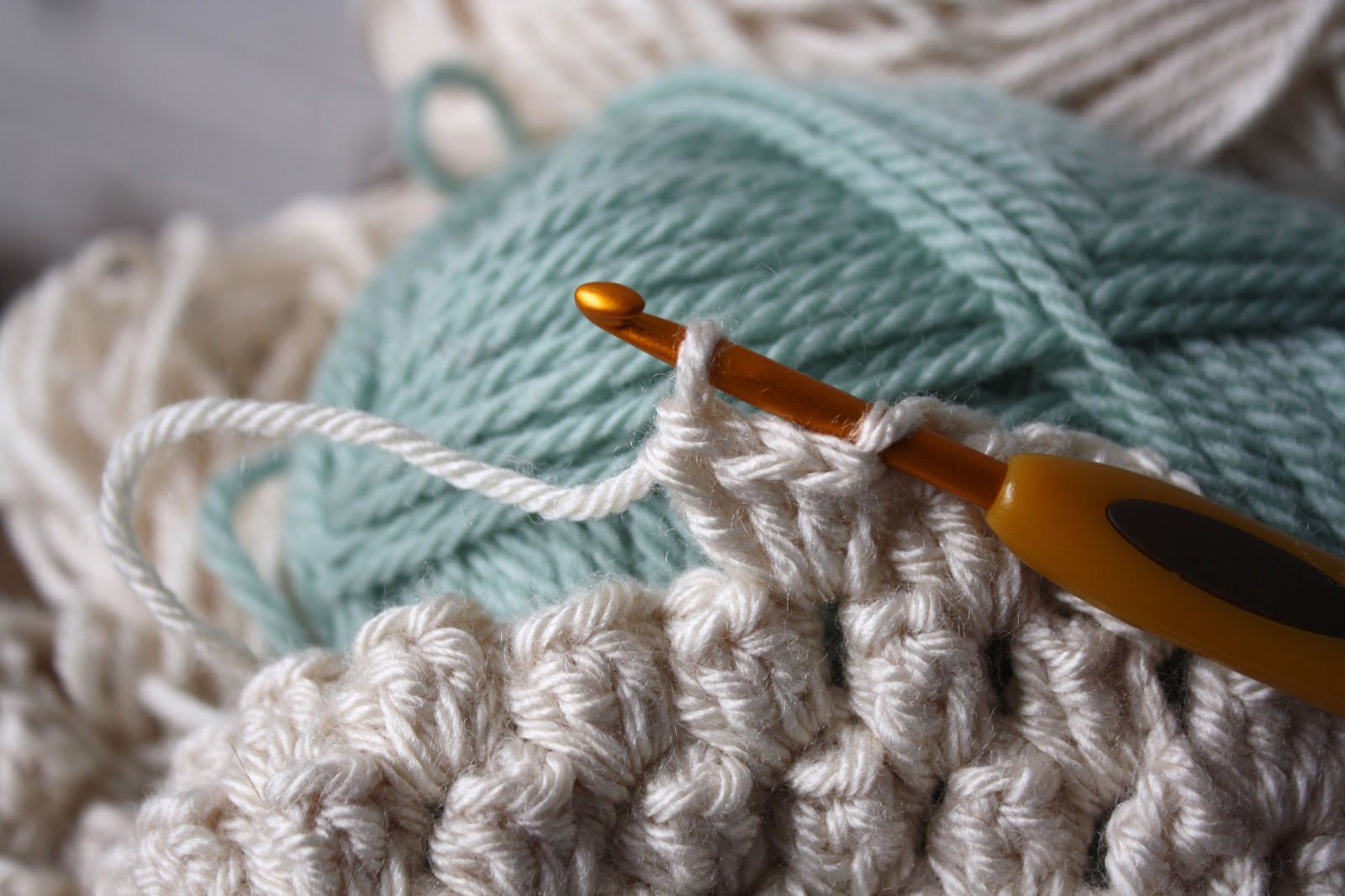 How To Crochet A Heart Popcorn Stitch Tutorial