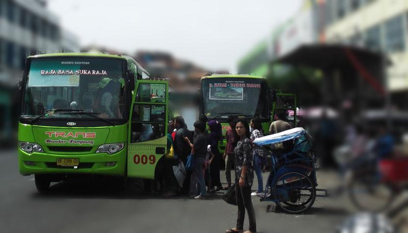 bus dalam kota bandar lampung
