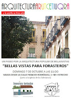 Arquitecturas. Ruta urbana: Bellas Vistas para forasteros