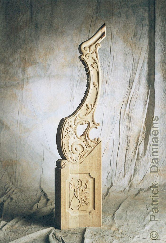 sculpture ornementale patrick damiaens balustre principal. Black Bedroom Furniture Sets. Home Design Ideas