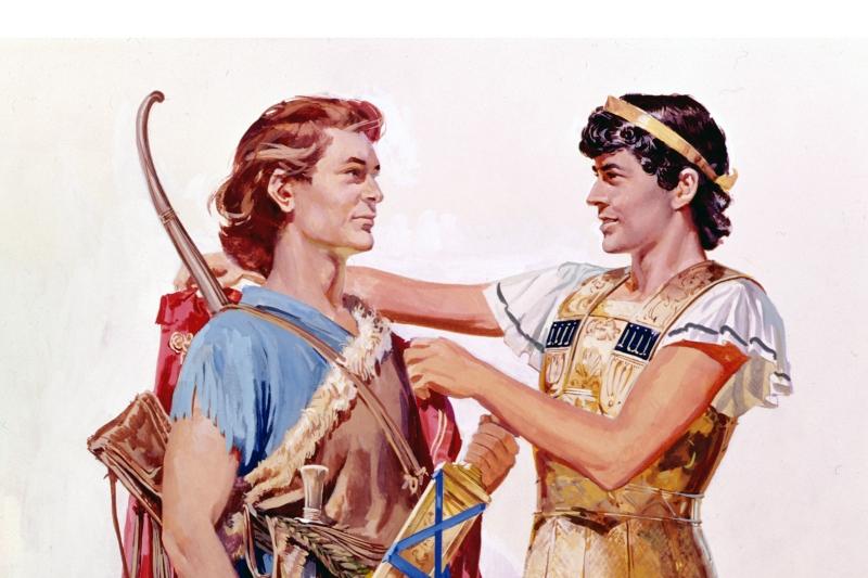 David si Ionatan