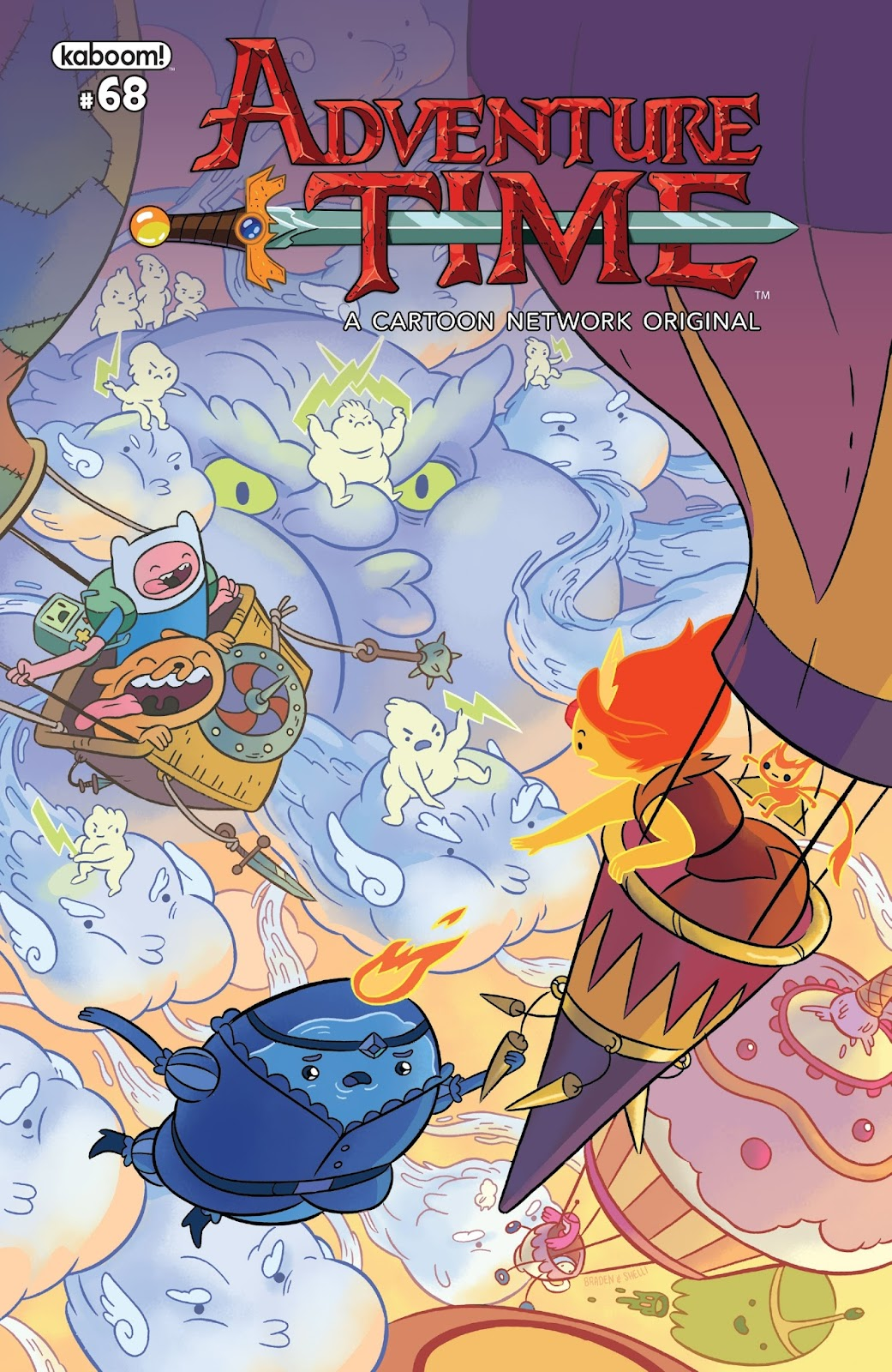 Adventure Time 68 Page 1