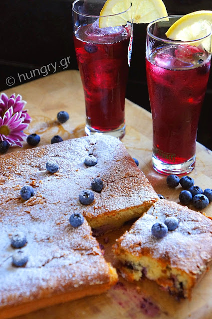 Blueberries Cake