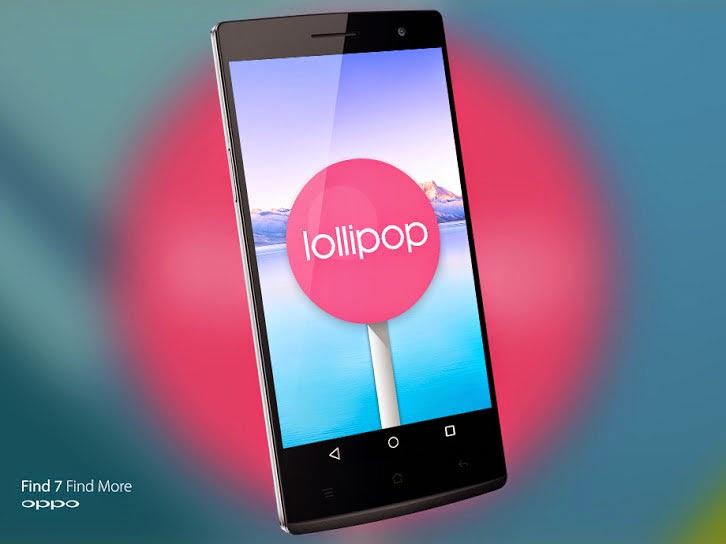 Oppo gulirkan update Android v5.0 Lollipop untuk Find 7 dan Find 7a