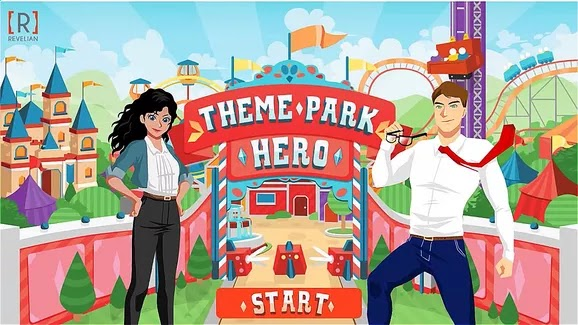 Revelian's Theme Park Hero Games Based Assessment
