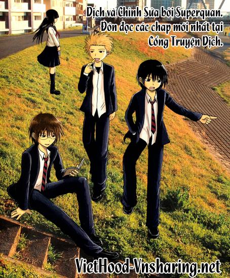 Danshi Koukousei no Nichijou Chap 36 - Next Chap 37