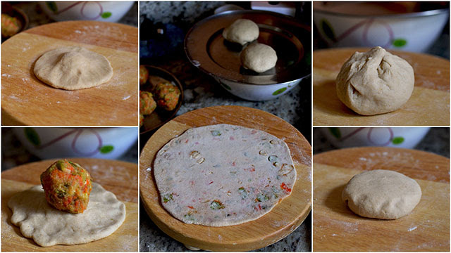 How to make Navratan Paratha
